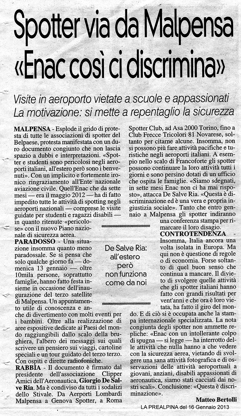 Prealpina 16012013
