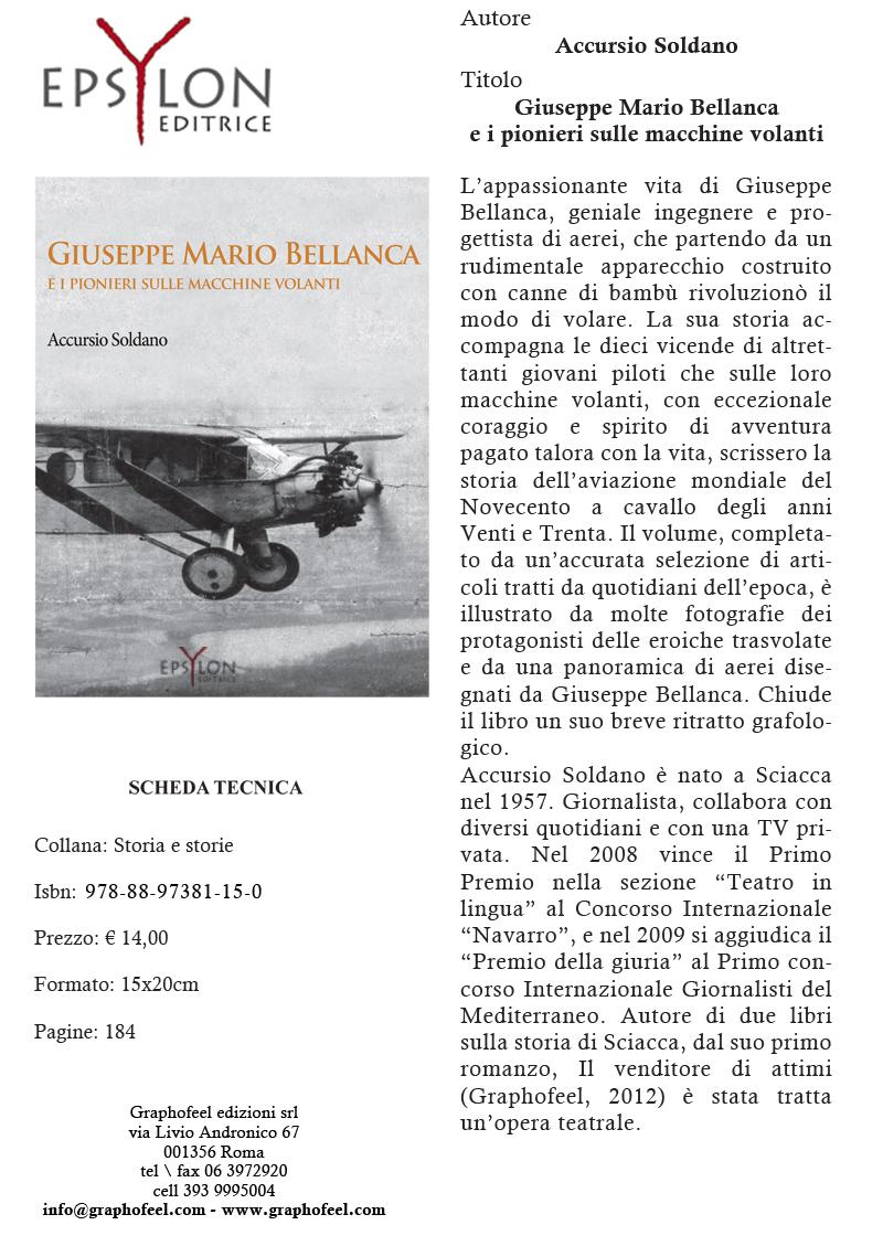 EPSYLON - GIUSEPPE MARIO BELLANCA