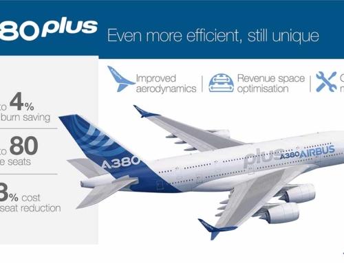 Airbus presenta l'A380Plus