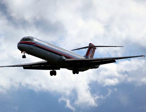 Lunedì 25 settembre I-SMEL, MD80 di Meridiana, atterra a Volandia