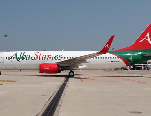 Albastar celebra il settimo anniversario dal suo primo volo
