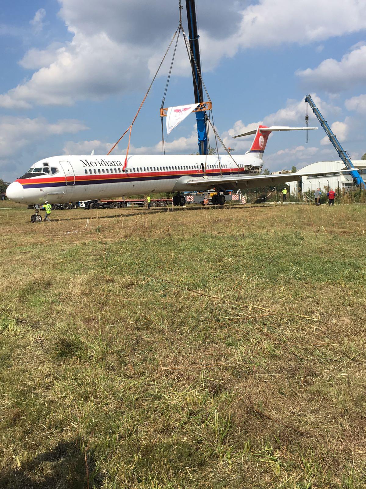 """""""Dopo quasi un anno – spiega Luciano Azzimonti vicepresidente di Volandia – il McDonnell Douglas MD 82 finalmente ¨ a pieno titolo nella famiglia del"""