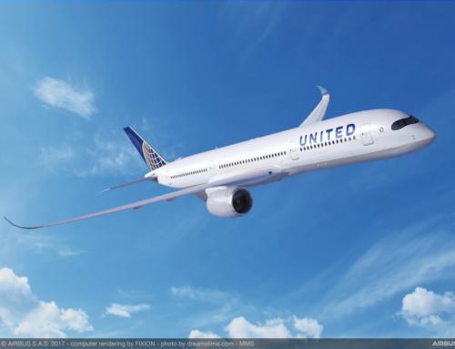 Salgono a 45 gli ordini per l'Airbus A350XVB da parte di United Airlines