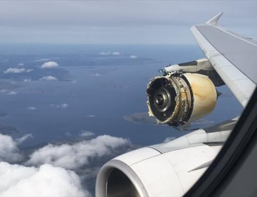 Problema ad un motore per un A380 di AirFrance