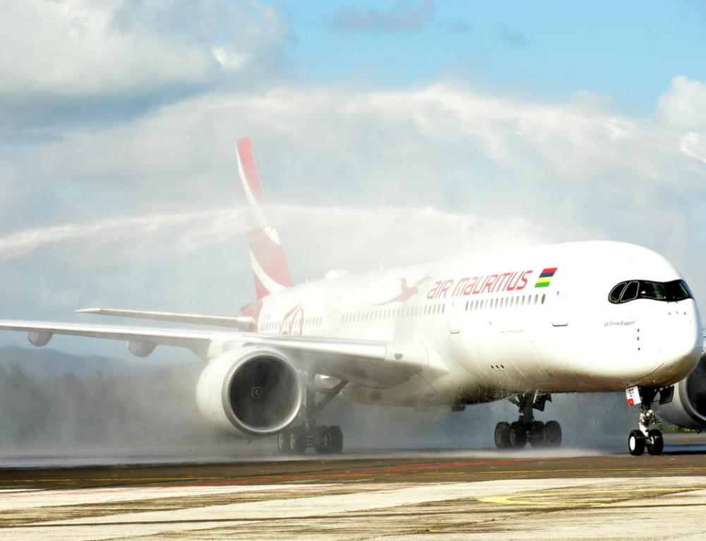 Air Mauritius riceve il suo primo Airbus A350 XWB
