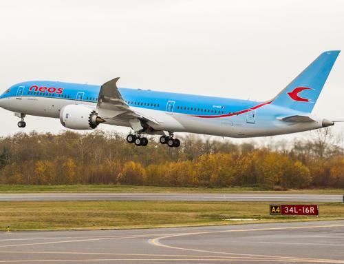 Boeing, Neos e AerCap celebrano la consegna del primo 787 Dreamliner
