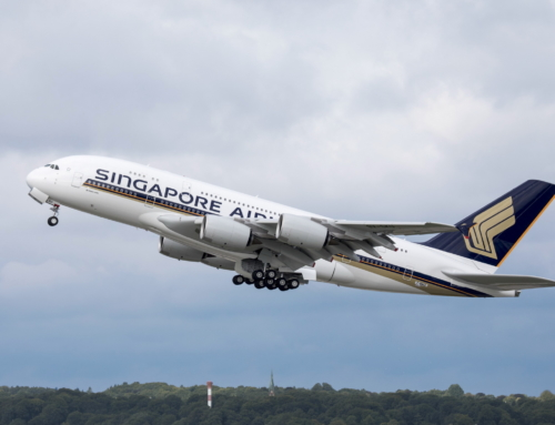 Primo volo per il nuovo Airbus A380 di Singapore Airlines