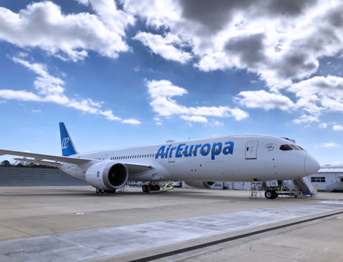 Una strana rotta per Air Europa