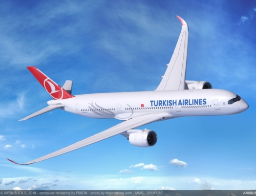 Turkish Airlines sceglie l'Airbus A350 XWB