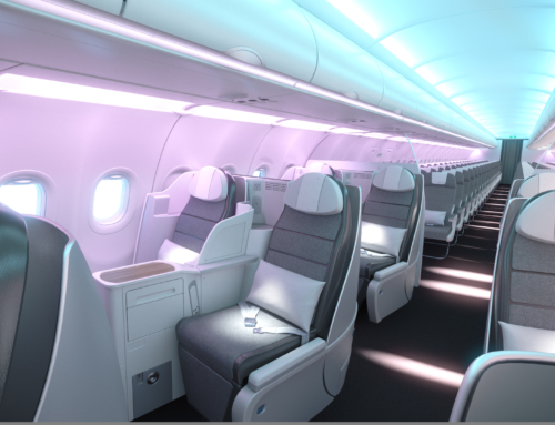 Aircraft interiors Expo 2018: in mostra le cabine Airbus