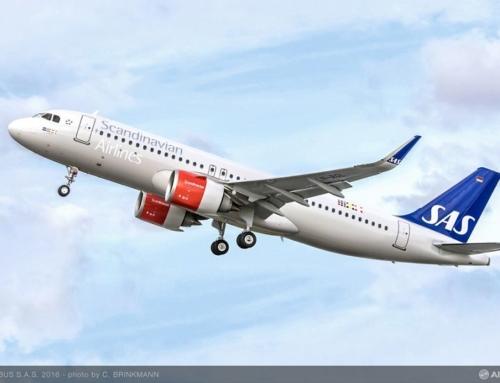SAS sigla un ordine fermo per 35 aeromobili della famiglia A320NEO