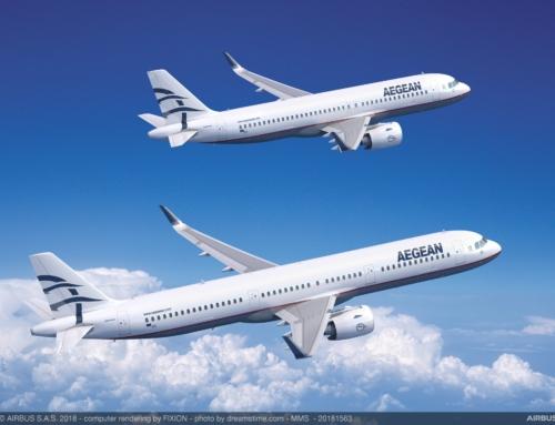Aegean Airlines sigla un ordine fermo per 30 Airbus della famiglia A320NEO