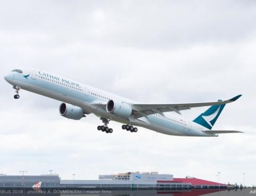 Cathay Pacific diventa il secondo operatore dell'Airbus A350-1000