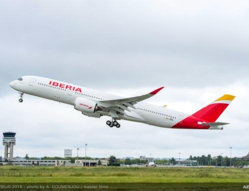 Iberia prende in consegna il suo primo AIRBUS A350-900