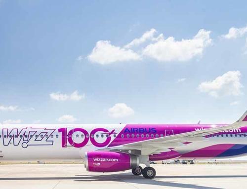 Wizz Air prende in consegna il suo 100° Airbus della famiglia A320
