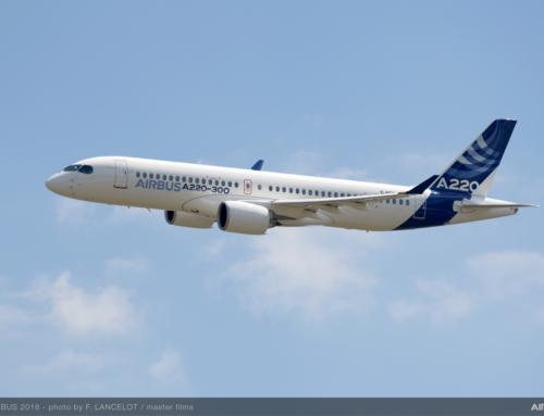 Airbus introduce i nuovi A220-100 e A220-300
