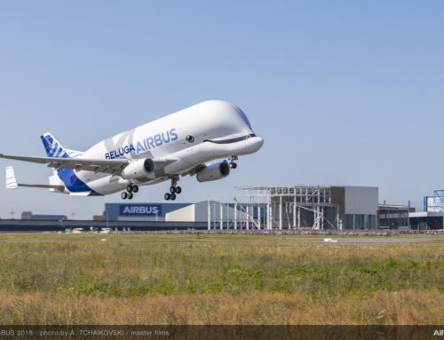 Il primo BelugaXL ha effettuato con successo il suo primo volo