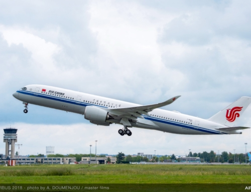 Air China e Sichuan Airlines prendono in consegna i loro primi A350-900