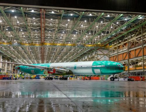Boeing divulga le foto del primo 777X