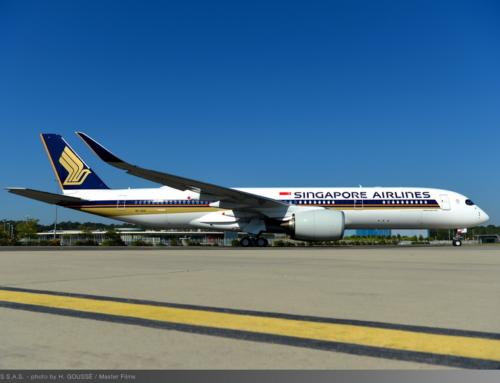 Il primo Airbus A350 XWB Ultra Long Range è stato consegnato a Singapore Airlines