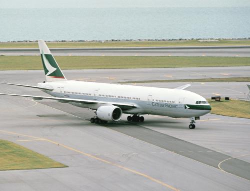 Cathay Pacific ritira il primo 777 costruito