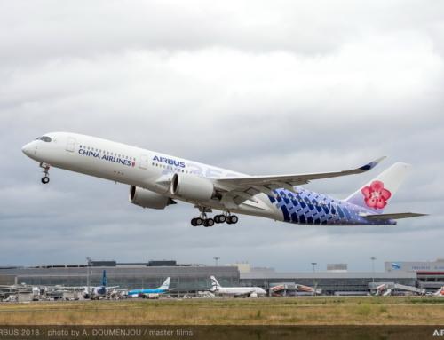 Airbus e China Airlines presentano l'A350-900 con la livrea speciale congiunta