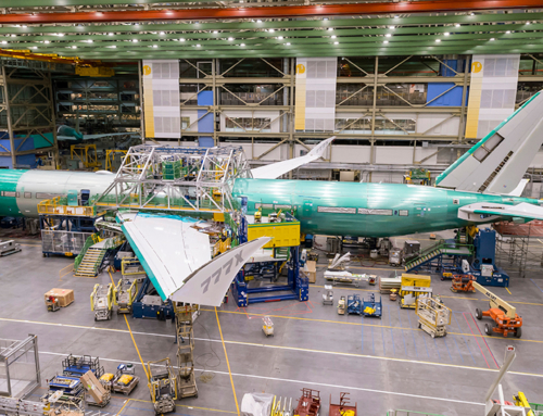 Assemblato il primo flight test airplane Boeing 777X