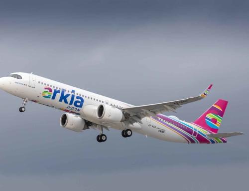 Arkia Israeli Airlines prende in consegna il primo Airbus A321LR al mondo