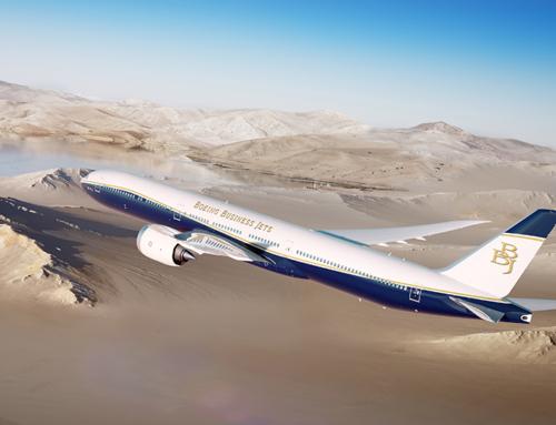 Boeing lancia il BBJ 777X, il business jet a più lungo raggio di sempre