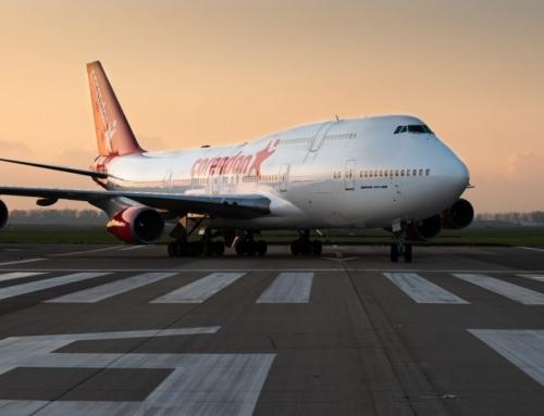 """Corendon mette un 747 """"in giardino"""""""