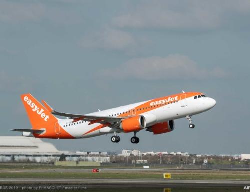Airbus consegna a easyJet il primo A320 dotato di FANS-C