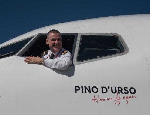 Albastar: un Boeing 737-800 dedicato a Pino D'Urso