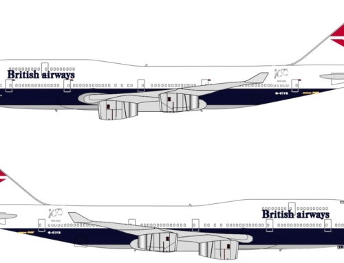 Ecco l'ultima livrea storica di British Airways