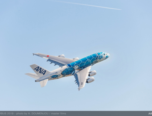 All Nippon Airways prende in consegna il suo primo Airbus A380