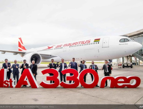 Air Mauritius prende in consegna il suo primo Airbus A330NEO
