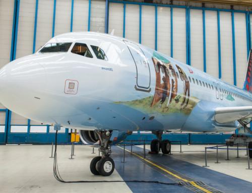 Brussels Airlines rivela Bruegel, la sesta icona belga