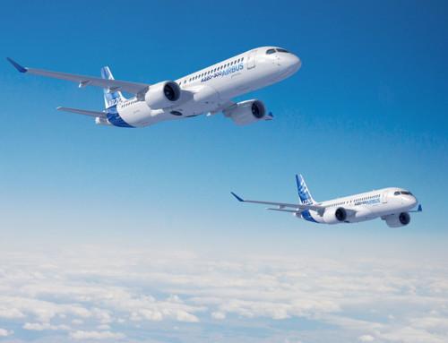 Airbus migliora la famiglia A220