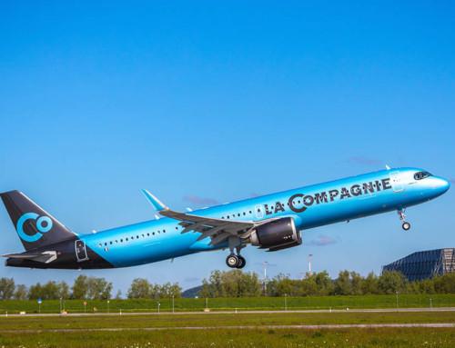 Primo volo per l'Airbus A321Neo di LaCompagnie