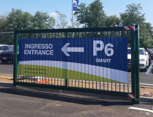 Apre P6 Smart: nuovo parcheggio a Malpensa