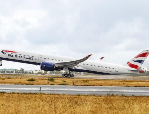 Consegnato a British Airways il suo primo Airbus A350-1000