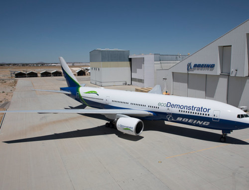Boeing porta nuove tecnologie sull'ecoDemonstrator
