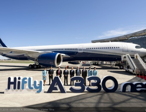 Airbus consegna il primo A330NEO con livrea HiFly